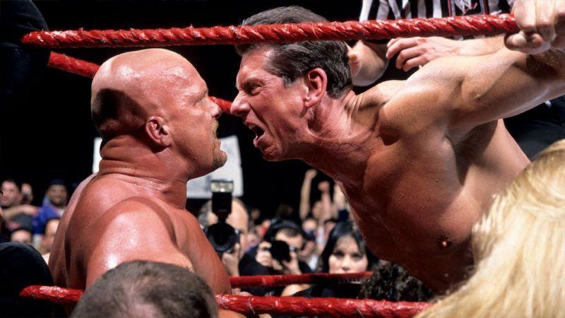 Stone Cold Steve Austin and Vince McMahon