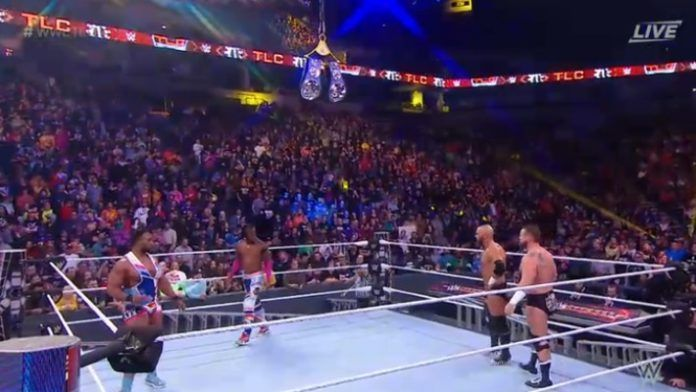 The New Day and The Revival had a few issues with ladders