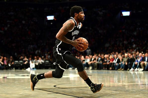 Kyrie Irving has been absent during Brooklyn
