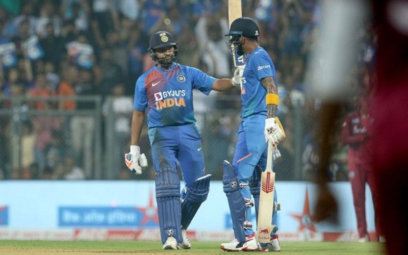 रोहित शर्मा और के एल राहुल (Photo-Bcci)