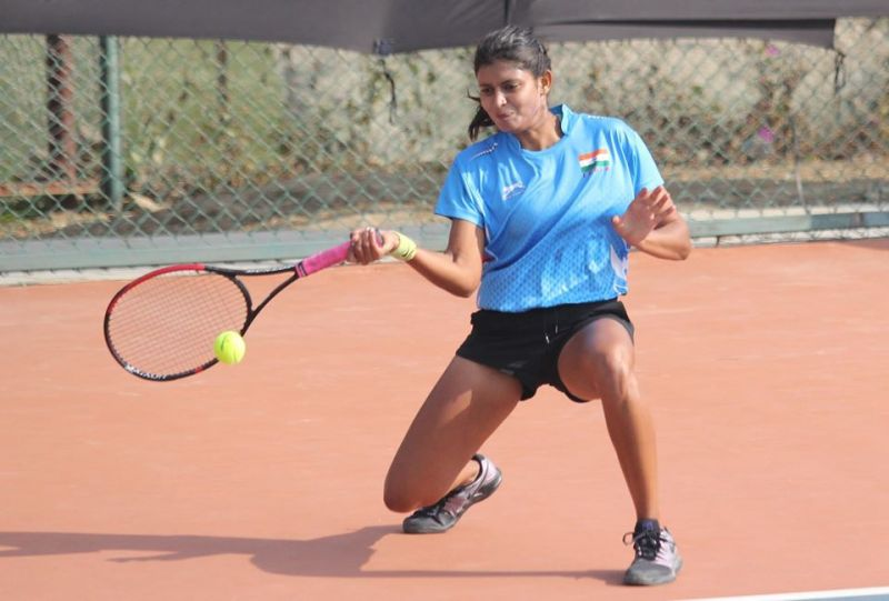 Bhavana Kalva (India): Tennis event at 2019 South Asian Games