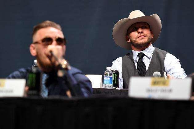 Cowboy faces McGregor in the headliner of UFC 246
