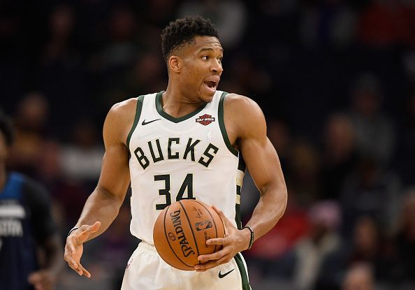 Giannis Antetokounmpo and the Bucks have won 11 games in a row