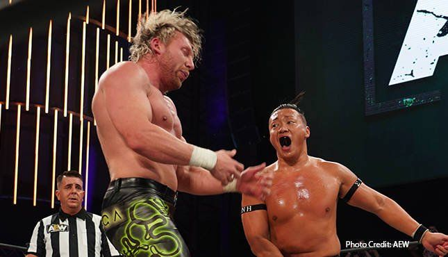This was likely the best wrestling match of Kenny Omega