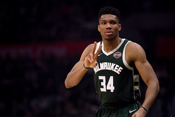 Giannis Antetokounmpo is among the leading contenders to be named Defensive Player of the Year
