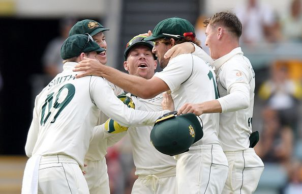 Australia have stuck with the same side that annihilated Pakistan in the Adelaide Test