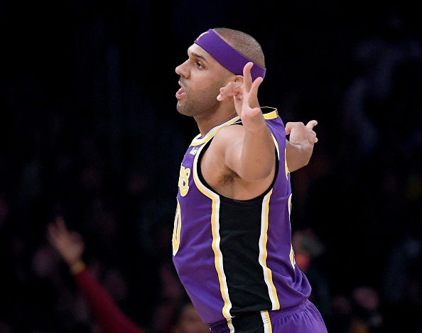 In the absence of Kuzma, Jared Dudley played meaningful minutes and contributed well.
