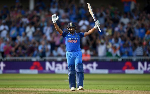 Rohit Sharma scored 63 runs in yesterday