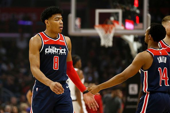 Rui Hachimura enjoyed a career night against the Los Angeles Clippers last week