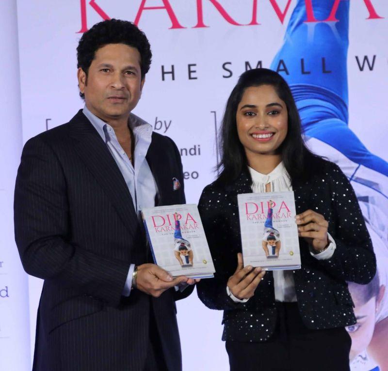 Sachin Tendulkar at the book launch