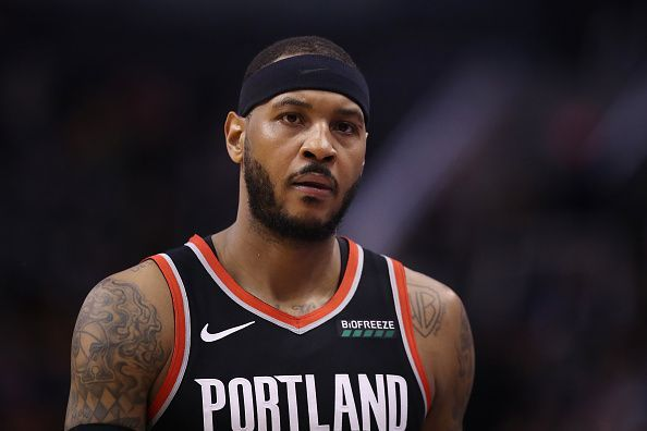 Carmelo Anthony missed a game-tying three against the Utah Jazz and will be eager to make amends