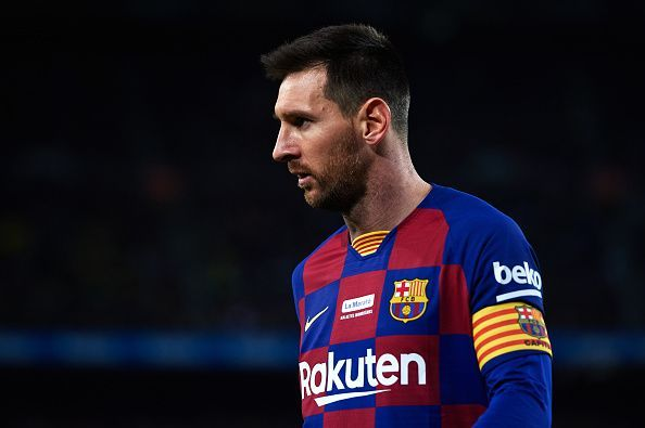 Lionel Messi has been rested for the trip to San Siro.