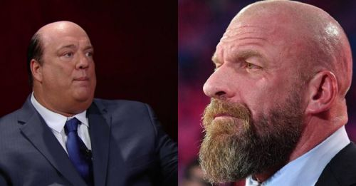 Paul Heyman and Triple H are high on