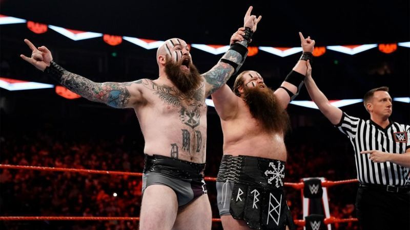 RAW Tag Team Champions The Viking Raiders