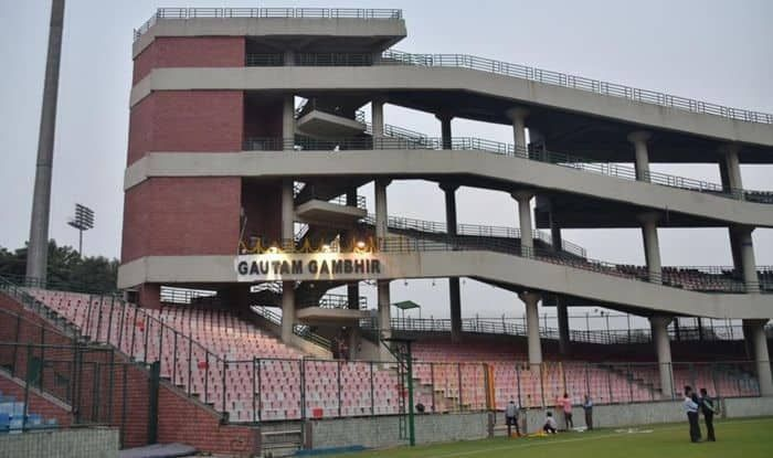 Representative image of Gautam Gambhir stand at Arun Jaitley Stadium ©Twitter