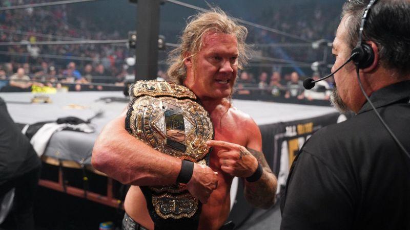 Chris Jericho faces Jungle Boy in a non-title match