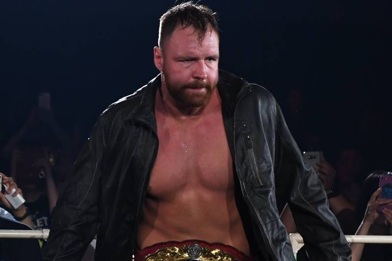Moxley as the IWGP US Champion.