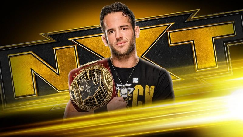NXT North American Champion Roderick Strong