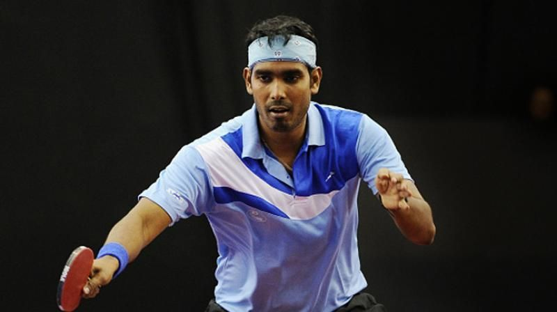 Sharath Kamal was a part of the Indian contingent at the Rio Olympics 2016