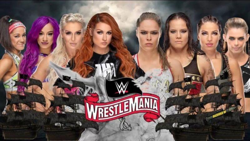 फोर हॉर्सविमेंस ऑफ़ WWE vsफोर हॉर्सविमेंस ऑफ़ UFC