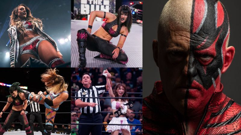 Dustin Rhodes and three other talents coach AEW