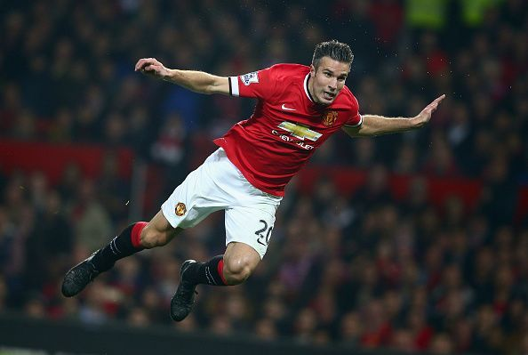 Van Persie won the Premier League in his first season at Manchester United