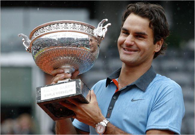 Federer equaled Sampras