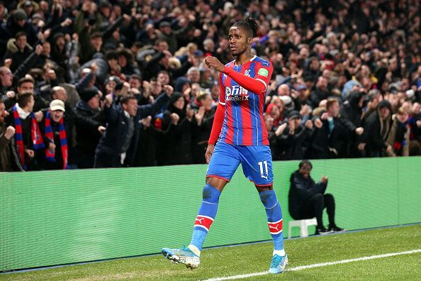 Zaha came close to leaving Palace in the summer