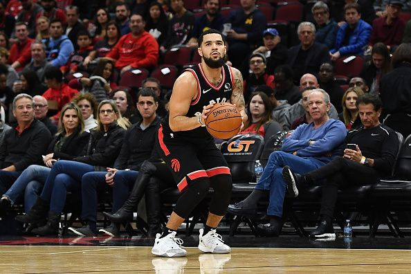 The Toronto Raptors host the in-form Miami Heat