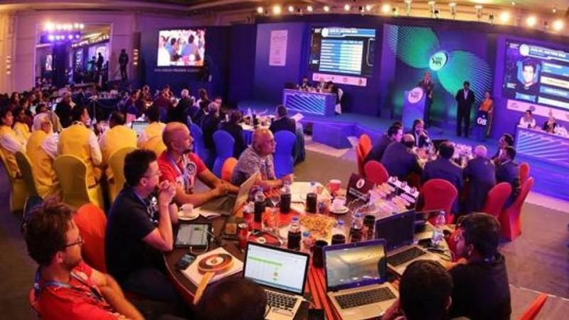 The IPL 2020 player auction was held today