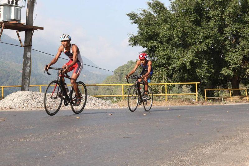 Triathlon event - South Asian Games 2019