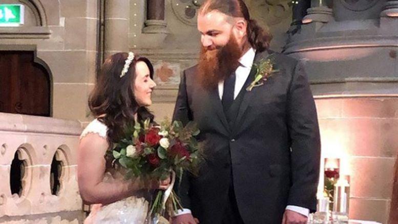 Killian Dain and Nikki Cross married earlier this year