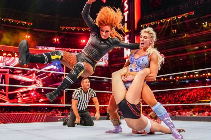 Charlotte Flair main-evented WrestleMania 35 with Ronda Rousey and Becky Lynch