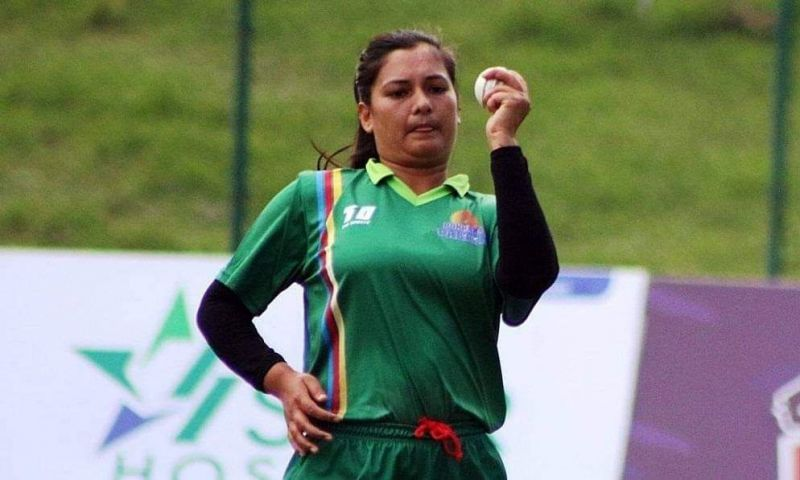Anjali Chand (Nepali women