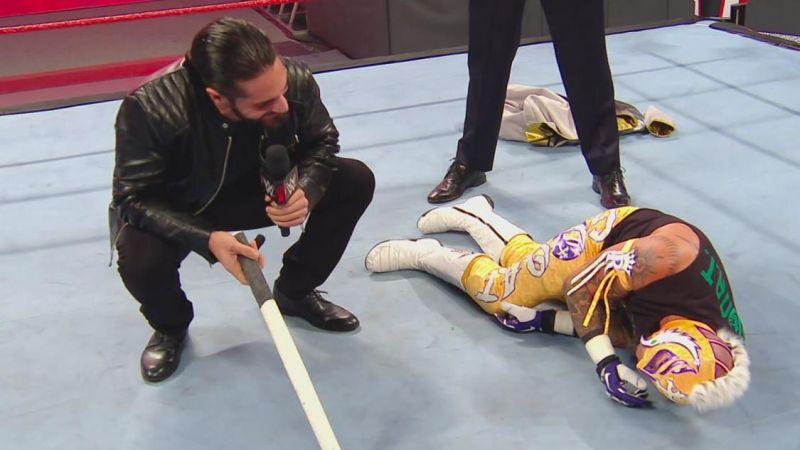 Seth Rollins will challenge Rey Mysterio for the US title