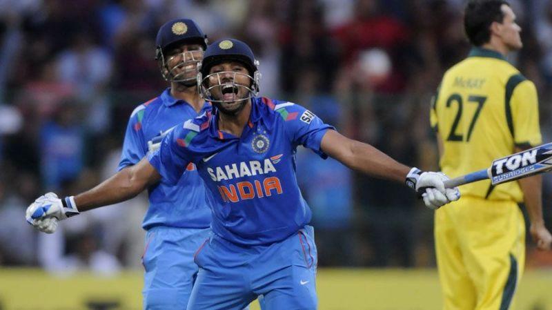 Rohit Sharma vs Australia in 2013