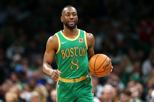 Kemba Walker and the Boston Celtics take on the Toronto Raptors