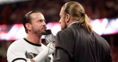 Punk Vs Triple H has all the makings of a great feud