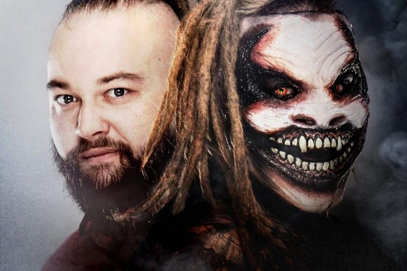 Bray Wyatt and his alter ego The Fiend