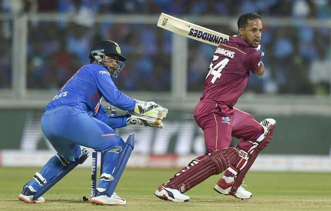 Lendl Simmons remained unbeaten in West Indies