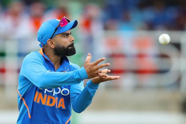 India have dropped as many as eight catches in the last two games