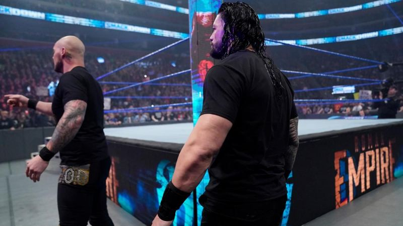 Roman Reigns and King Corbin are certainly far from done