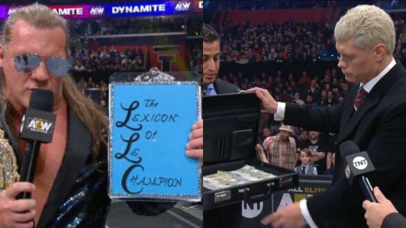 Chris Jericho revealed the