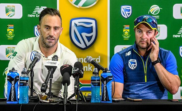 Faf du Plessis credited the appointment of Graeme Smith and Mark Boucher for their win against England