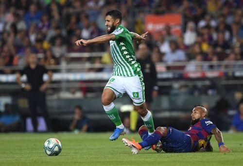Nabil Fekir in action for Real Betis