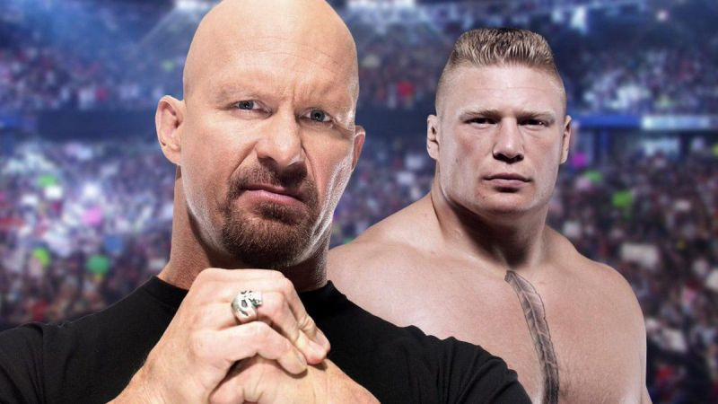 Stone Cold and Brock Lesnar