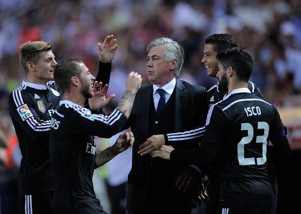 Ancelotti is a master in managing big egos