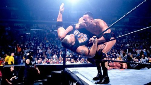 The Rock eliminated Big Show at Royal Rumble 2000