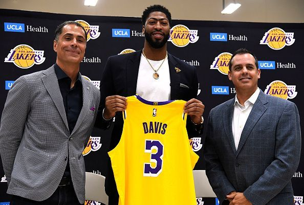 Lakers introduce Anthony Davis