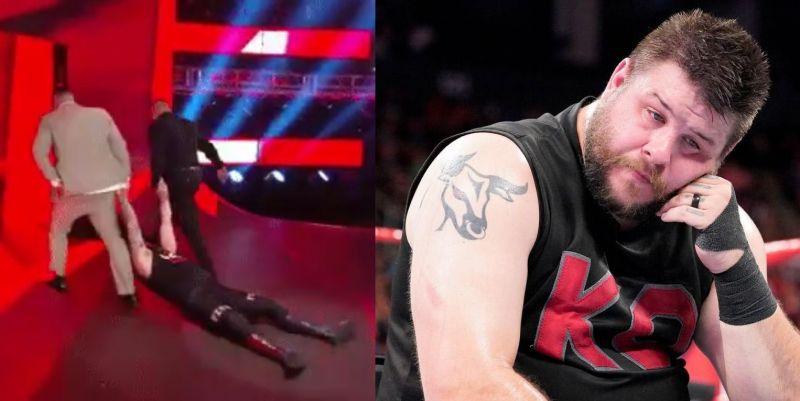 Owens was viciously attacked by AOP on RAW
